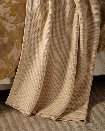 Watterson Lurex® Metallic Throw Blanket