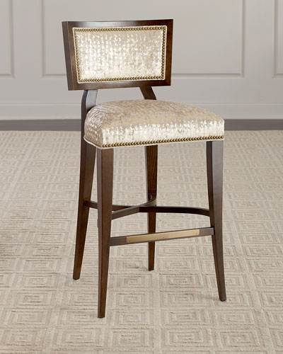 Groovy Bar Stool Neiman Marcus Bralicious Painted Fabric Chair Ideas Braliciousco