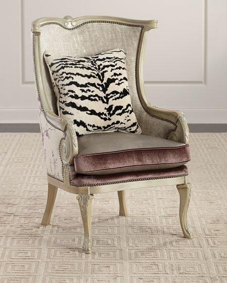 Massoud Stellan Wing Chair