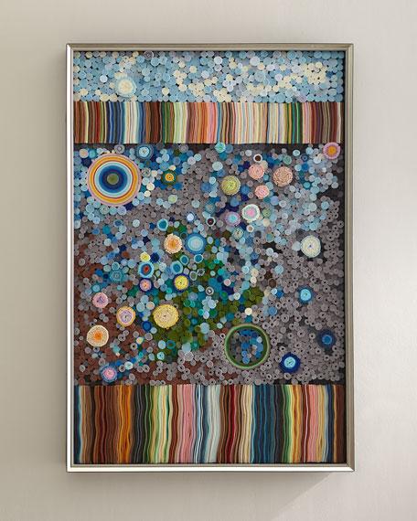 John-Richard Collection 'Rainbow Tapestry' Wall Art by Tony Fey