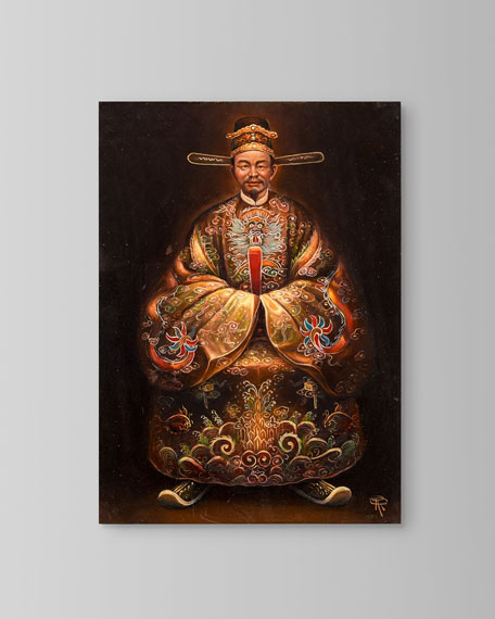 """John-Richard Collection """"Emperor Duc Duc"""" Painting by Roland Renaud"""