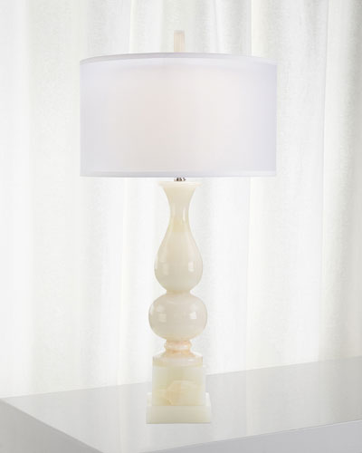 Classic White Jade Table Lamp