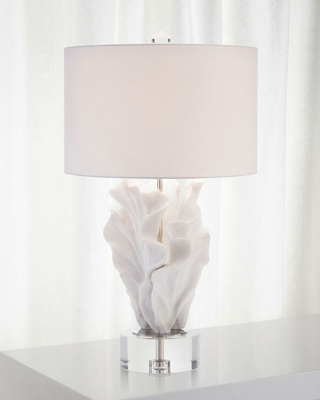 John-Richard Collection Cast Coral Table Lamp