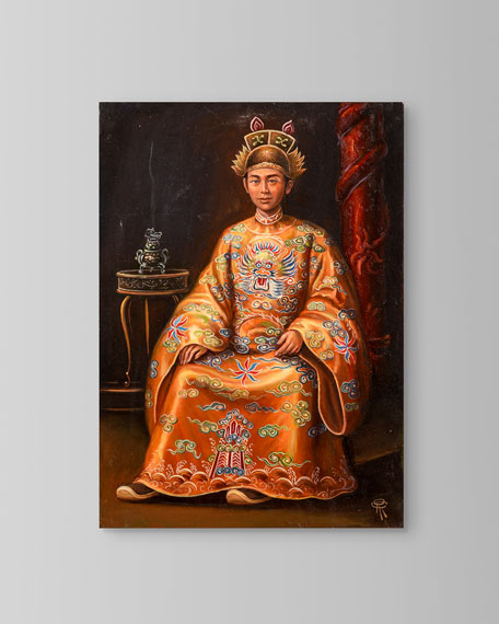 """John-Richard Collection """"Emperor Minh Mang"""" Painting by Roland Renaud"""