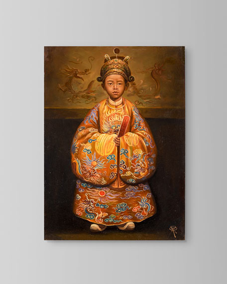 """John-Richard Collection """"Emperor Duc Tan"""" Painting by Roland Renaud"""