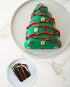 Aux Delices Christmas Tree Cake
