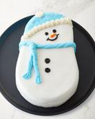 Aux Delices Snowman Cake