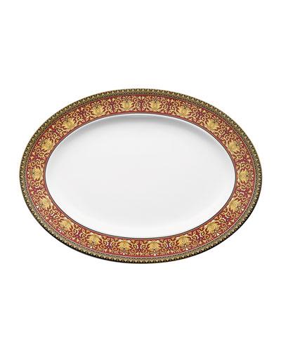 Medusa Oval Platter