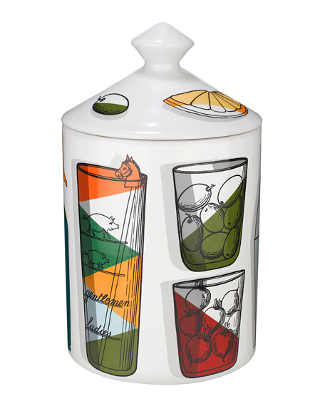 Fornasetti Cocktail Candle, 300g
