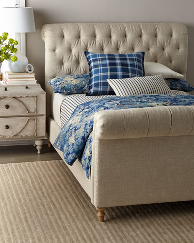 Nancy Tufted King Bed