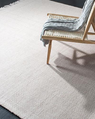 Amalie Pewter Hand-Woven Flat Weave Runner, 2'6