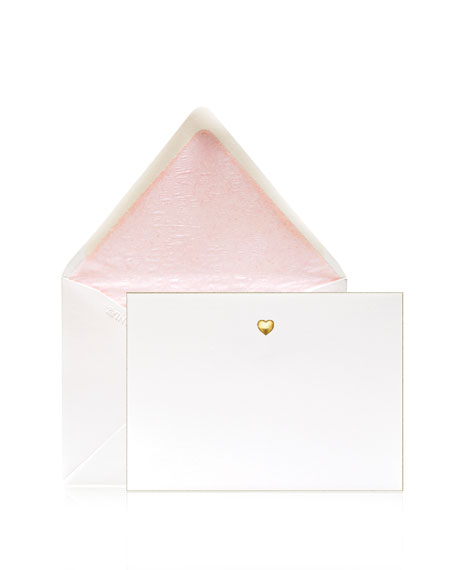 Bell'INVITO Love Puff Stationery Set, Box of 12