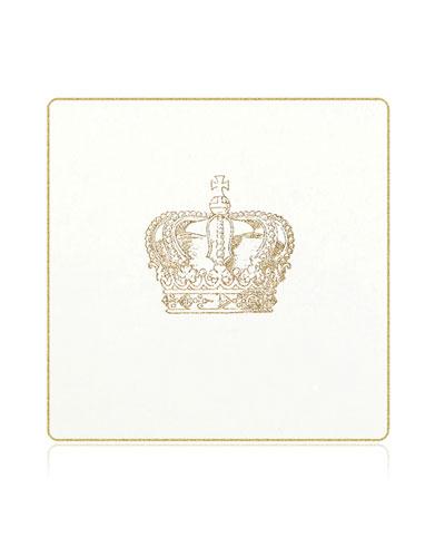 Crown Coasters, Set of 18