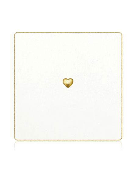Bell'INVITO Love Puff Coasters, Set of 18