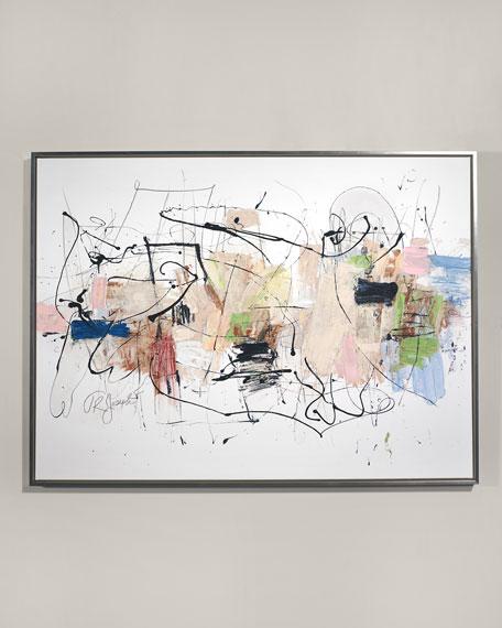 """RFA Fine Art """"Blended Family"""" Giclee Wall Art by T.R Joseph"""