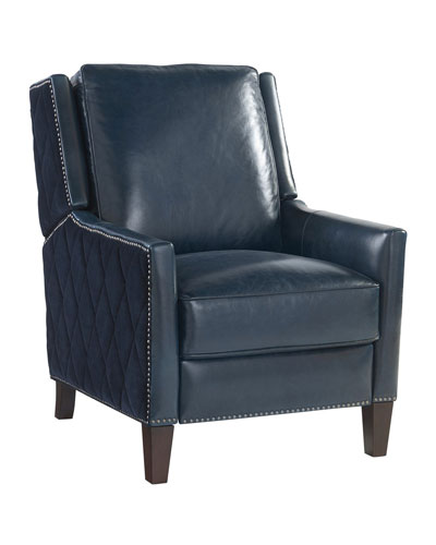 Bannister Leather Recliner Chair