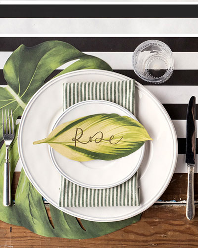 Tropical Paper Table Setting Decor Collection