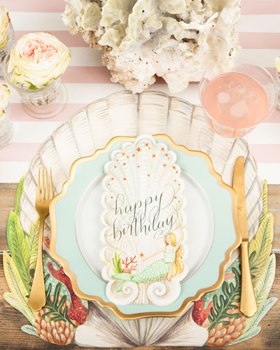 Coastal Paper Table Setting Decor Collection