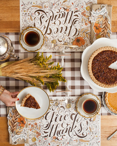 Give Thanks Table Setting Decor Collection