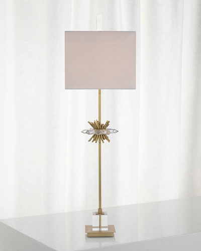 Crystal Points Buffet Lamp