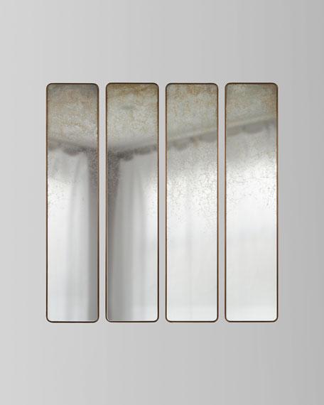 John-Richard Collection Pastelle Wall Panels, Set of 4