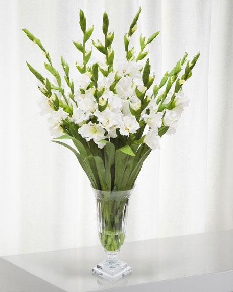Winward Gladiolus in Cut Vase