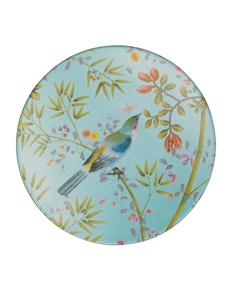 Raynaud Paradis Turquoise Bread & Butter Plate