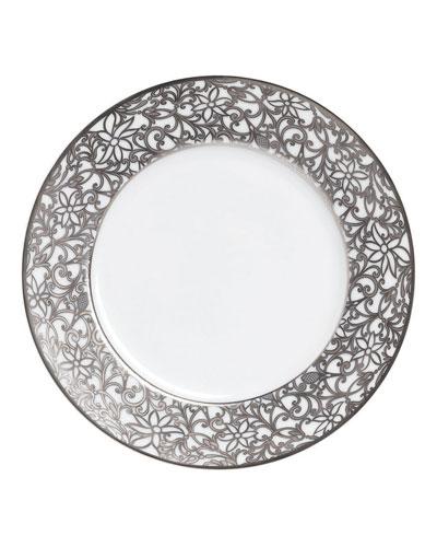 Salamanque Platinum Salad Plate