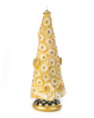 MacKenzie-Childs Golden Tree Candle, 12