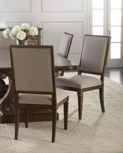 Upholstered Side Chairs, Set of 2
