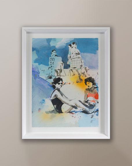 """Grand Image Home """"Beach Studies 8"""" Giclee by Van Hoang"""