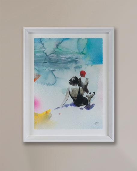 """Grand Image Home """"Beach Studies 11"""" Giclee by Van Hoang"""