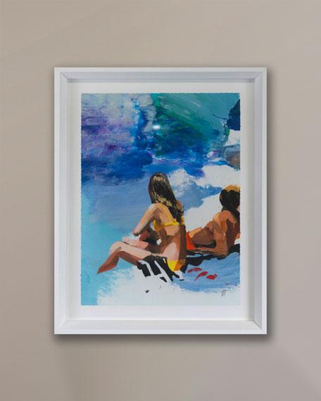 """Grand Image Home """"Beach Studies 19"""" Giclee by Van Hoang"""