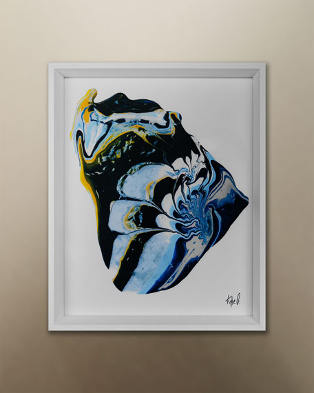 """Grand Image Home """"Paint Pools 8"""" Giclee by Kyle Goderwis"""