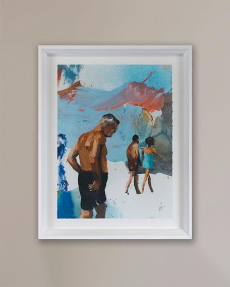"""Grand Image Home """"Beach Studies 20"""" Giclee by Van Hoang"""