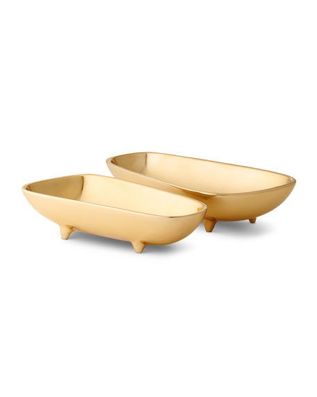 AERIN Valerio Small Footed Bowl