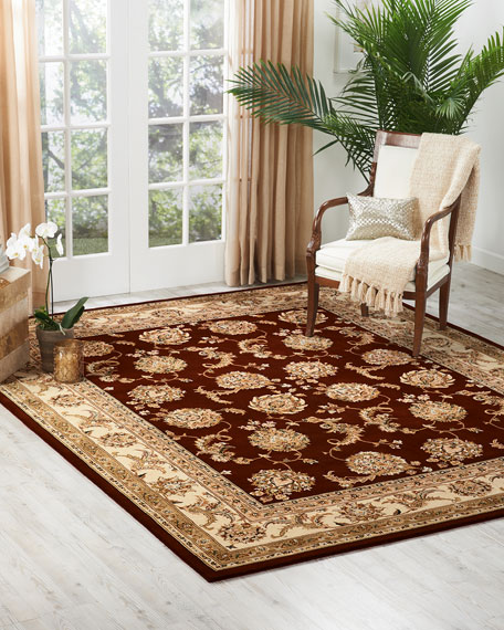 NourCouture Red River Hand-Tufted Rug, 9' x 12'