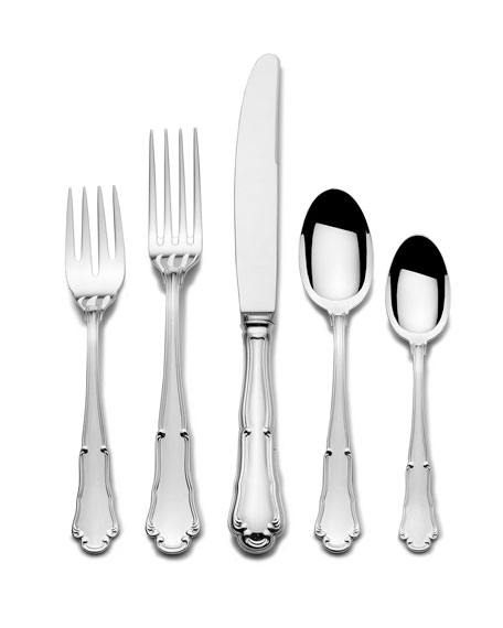 Wallace Silversmiths Barocco 5-Piece Dinner Flatware Set