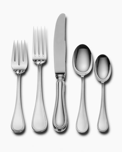 Weatherly Wallace Silversmiths Japan 18//8 Stainless 5 Piece Place Setting