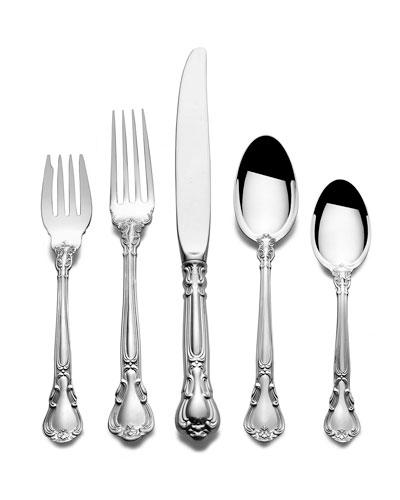 Chantilly 66-Piece Dinner Flatware Set