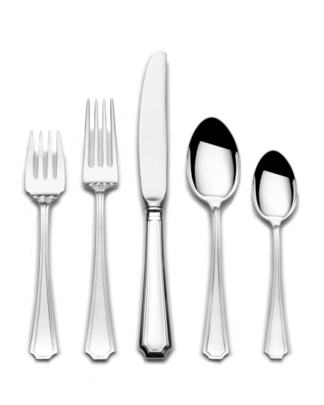Gorham Fairfax 5-Piece Flatware Dinner Setting