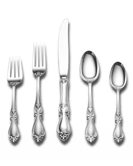 Towle Silversmiths Queen Elizabeth 46-Piece Dinner Flatware Set