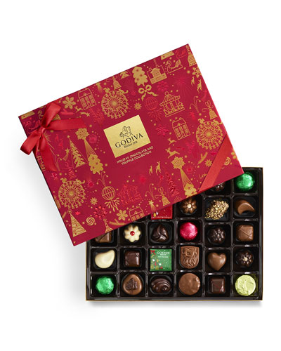 32-Piece Holiday Chocolate Gift Box
