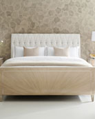 caracole Diamond Jubilee Tufted Queen Bed