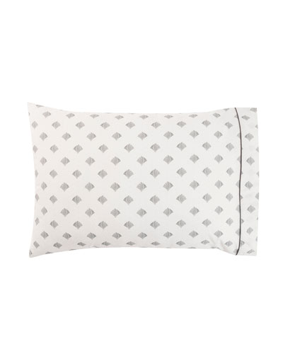 Poseidon Printed Standard Pillowcases, Set of 2