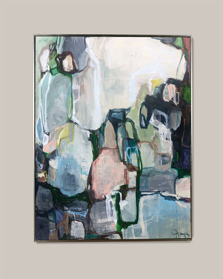"Jill Pumpelly Fine Art ""Slide Into Pieces"" Giclee"