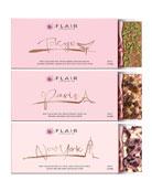 Flair Chocolatier Set of New York, Paris and