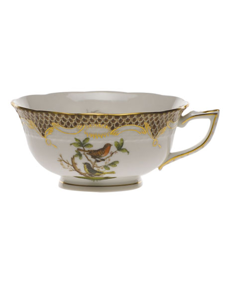 Herend Rothschild Bird Brown Motif 03 Tea Cup