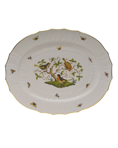 Rothschild Bird Turkey Platter 18
