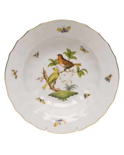 Rothschild Bird Motif 06 Rim Soup Bowl